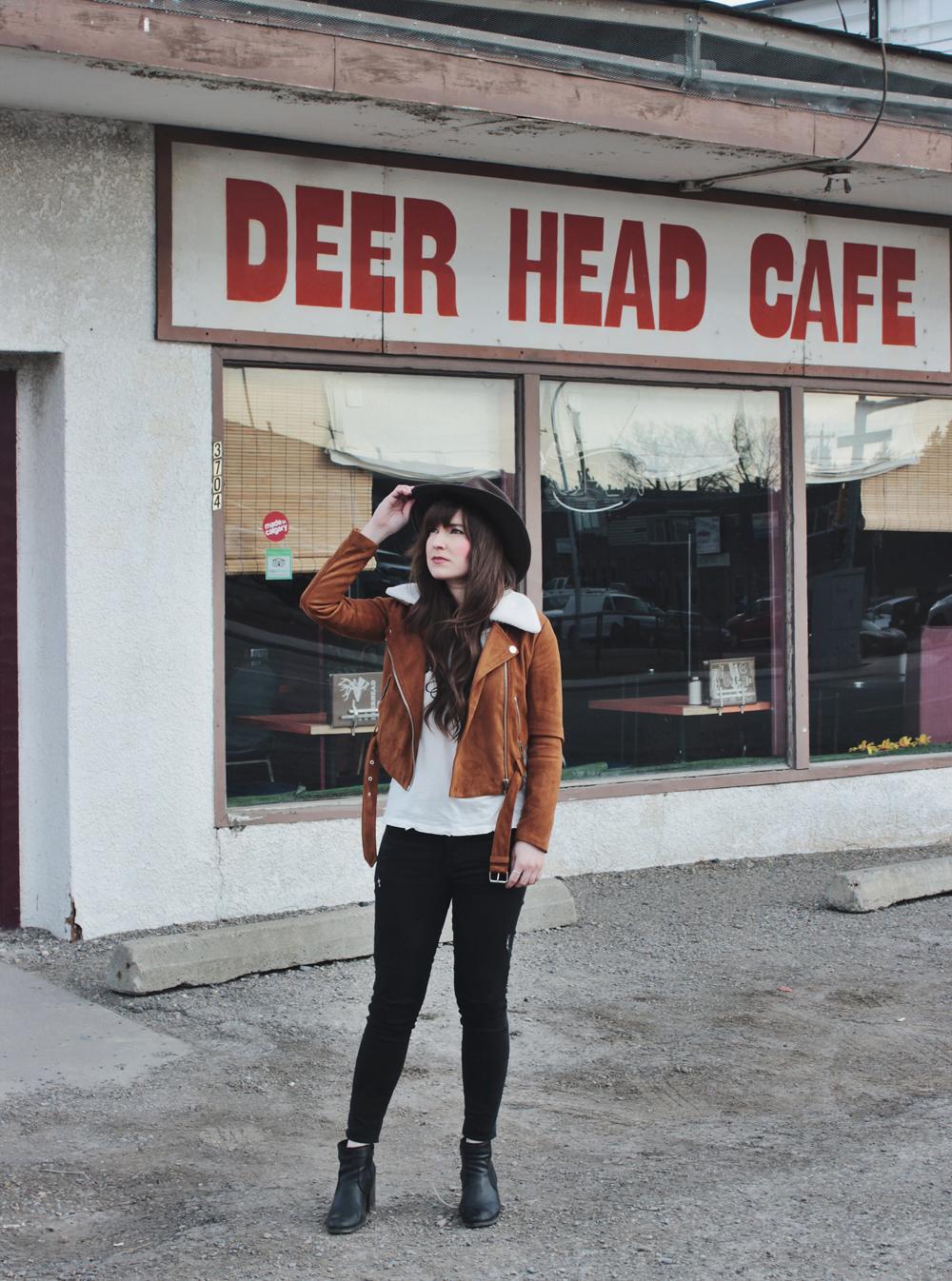 Deer Head Cafe Calgary Menu